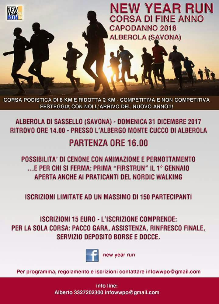 Calendario Podismo Piemonte.Calendario Podistico Ligure E Basso Piemonte Anno 2017