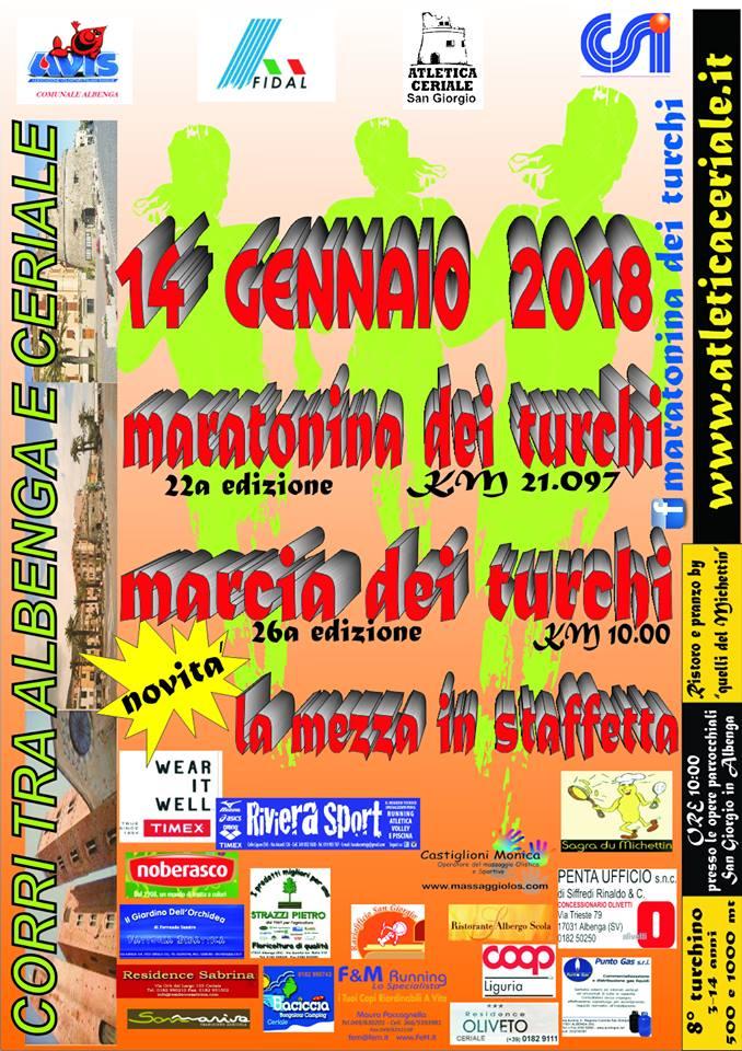 Calendario Podismo Piemonte.Calendario Podistico Ligure E Basso Piemonte Anno 2018